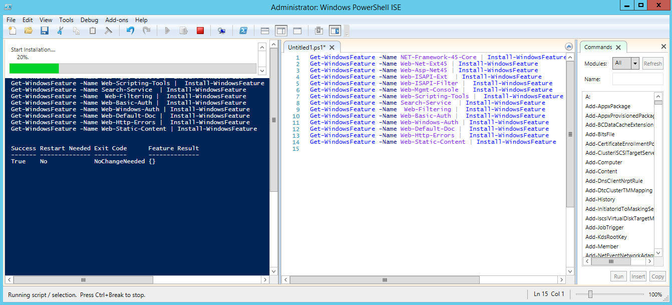 How to Install Windows Features with Powershell